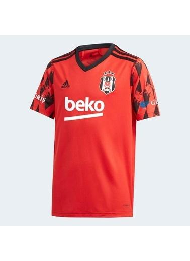 adidas Erkek Çocuk Beşiktaş Jk 20/21 Üçüncü Spor Ayakkabı FR4105 Kırmızı